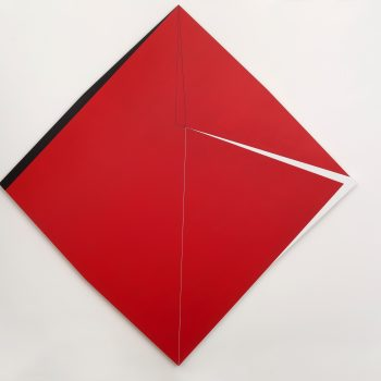 "Macaparana, Untitled, ""Homage To Hercules Barsotti"" series, 2013, 135 x 135 cm"