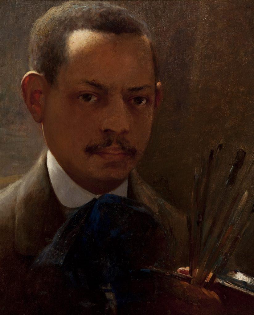 "Arthur Timótheo da Costa, ""Autorretrato, ""1908. 41 x 33 cm./Photo: Isabella Matheus"