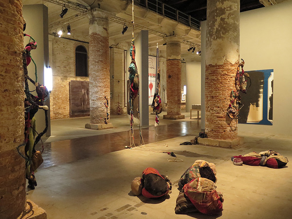 "Sonia Gomes, 56 Biennale di Venezia 2015, ""All the World's Futures"" curated by Okwui Enwezor"