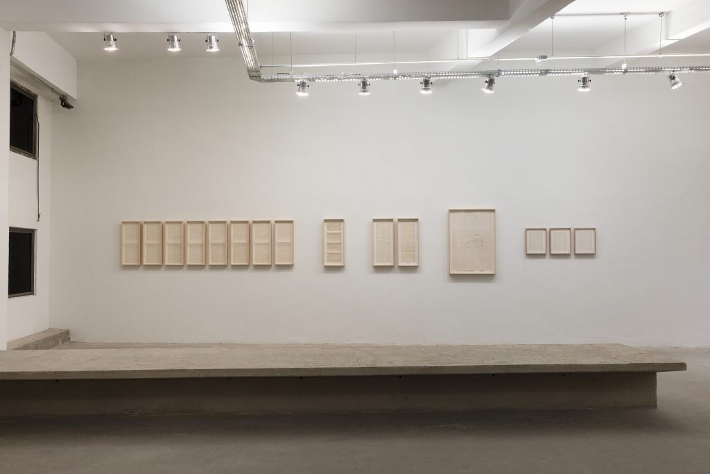 Ivens Machado, Drawing series made between 1970 and 1980.