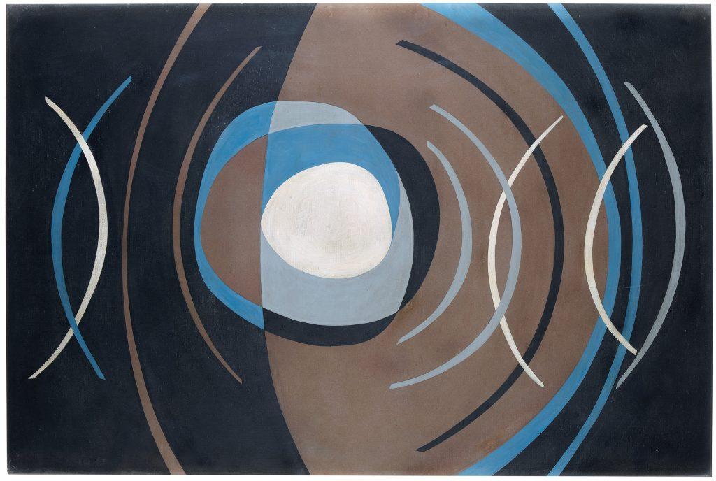 Luis Martínez Pedro, Untitled, 1966, board on card, 73 x 108,6 cm