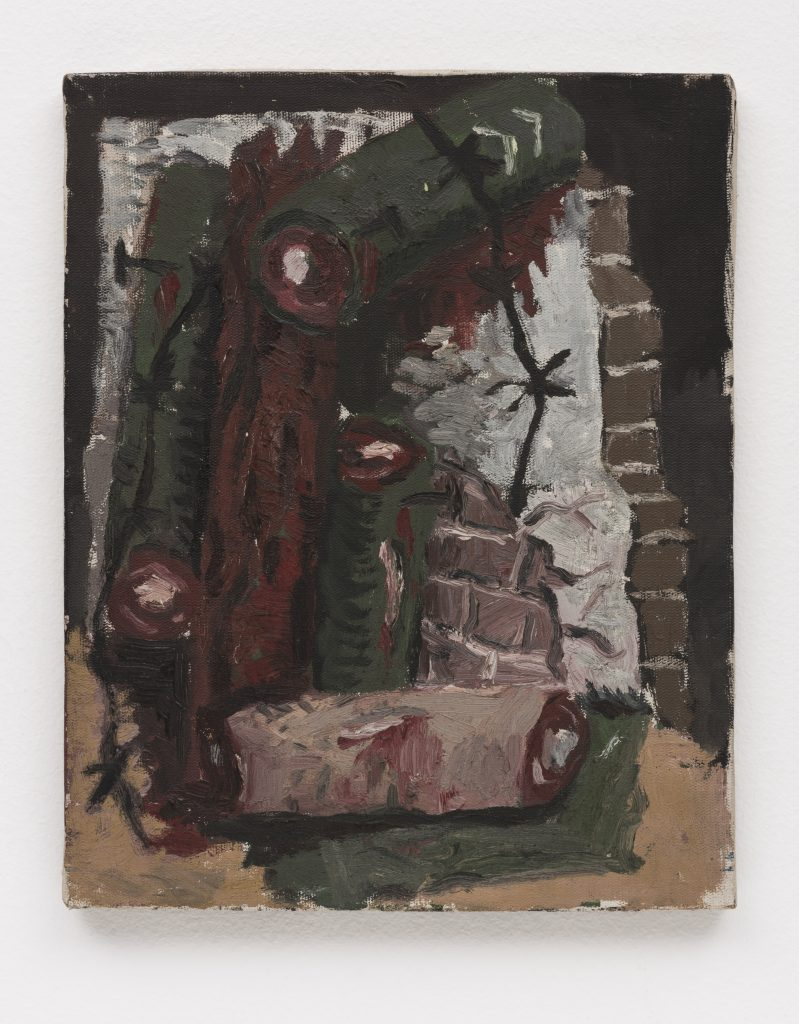 Rodrigo Andrade, Untitled, 1984, Oil on canvas, 30 x 24 cm/Photo: Ding Musa