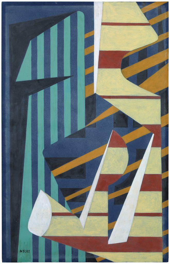 Wifredo Arcay, Untitled, circa 1956, gouache on paper, 50 x 32 cm