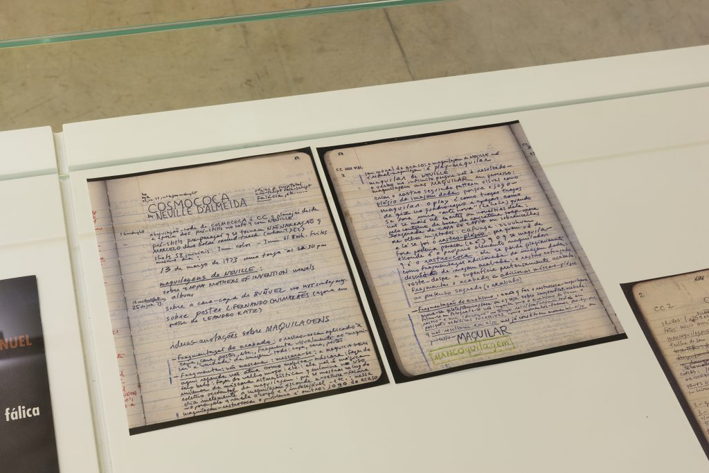 Helio Oiticica and Neville D'Almeida, Barracão, notebook on Cosmococa/Photo: Everton Ballardin, Galeria Nara Roesler 2016