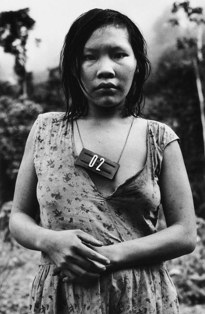 "Claudia Andujar, ""Ajarani BR 210 Terra Indígena Yanomami Roraima"" 2005"