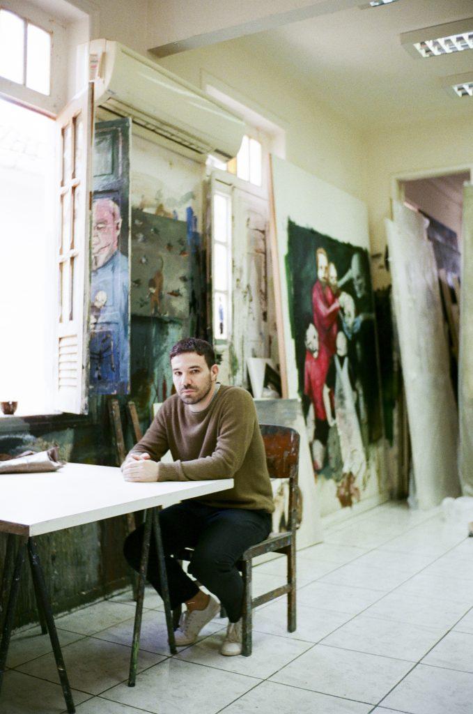 Eduardo Berliner in his studio, in Rio de Janeiro/Photo Demian Jacob