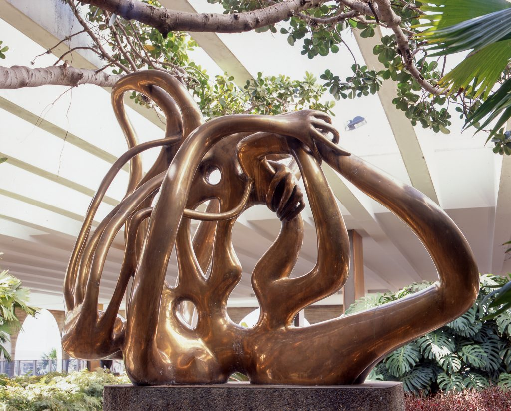 Maria Martins' last work in sculpture, Canto da Noite (Night Chant)