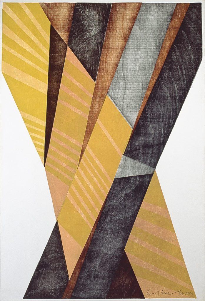 Emanoel Araújo, untitled, 1972, woodcut