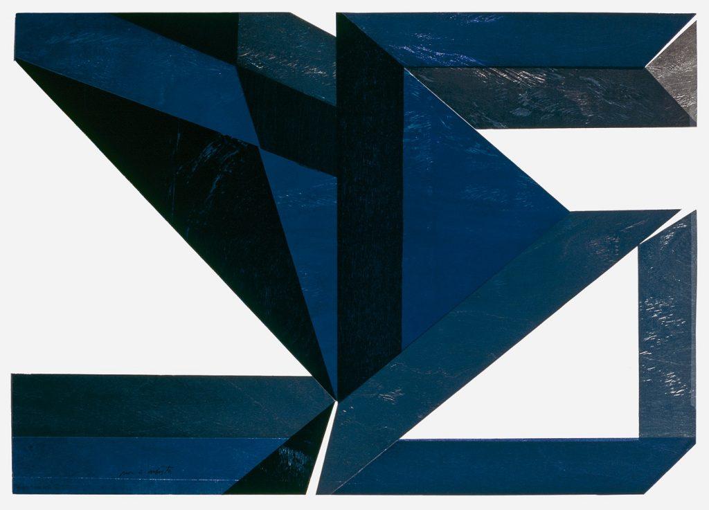 Emanoel Araújo, untitled, 1980, woodcut