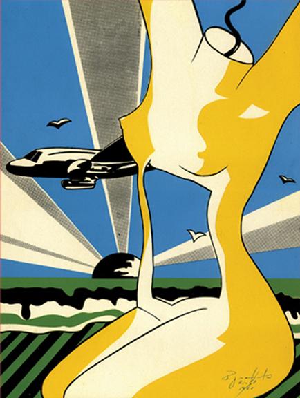 Regina Vater, Tropicália series, 1968, silkscreen on paper, Ed 16:60, 38 x 28,5 cm