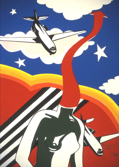 Regina Vater, Tropicália series, 1968, silkscreen on paper