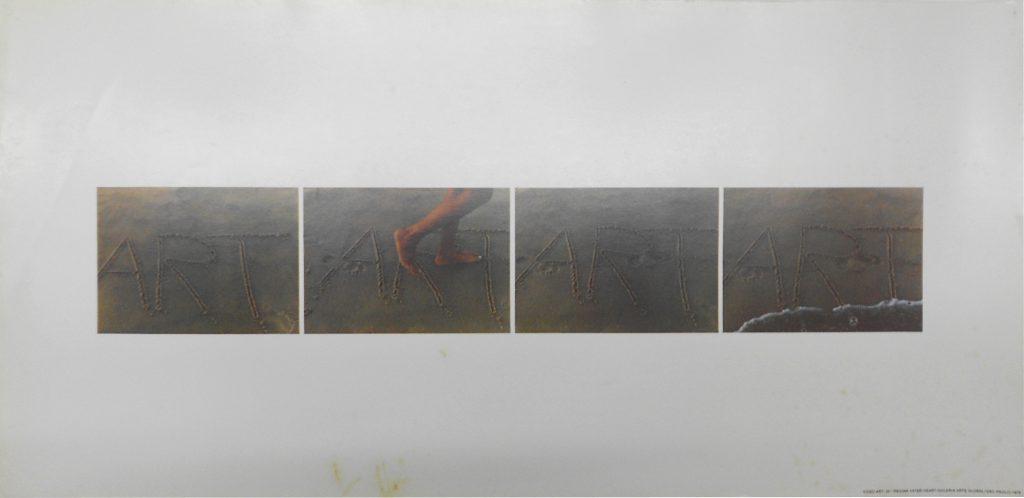 Regina Vater, VideoART, 1978, Poster, Ed 13, 29 x 60,8 cm