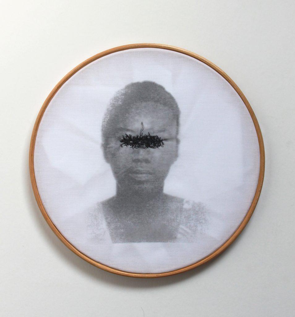 Rosana Paulino, Bastidores series (Embroidery Hoop series)