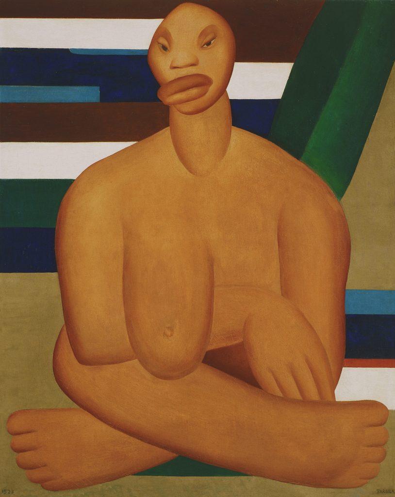 Tarsila do Amaral, A Negra (The Negress), 1923, oil on canvas 100 x 80 cm