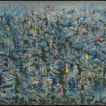 Rhythm in Blue: A New Retrospective Places Painter Antonio Bandeira in Brazil's Art Canon