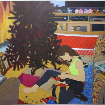 Homebodies: Art Twins Tangerina Bruno Are the Stars in Their Paintings